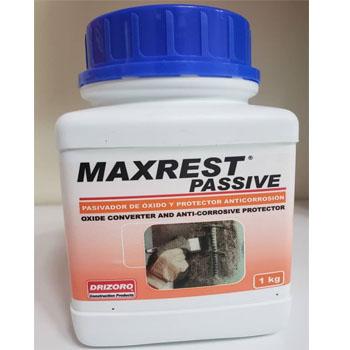 پوشش حفاظتی ضد خوردگی سطوح آرماتورها و سایر سطوح فلزی و فولادی Maxrest passive