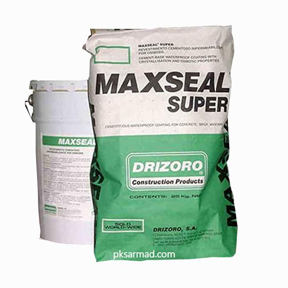 آببند پایه سیمانی با ویژگیهای کریستال شونده و اسمزی MAXSEAL SUPER