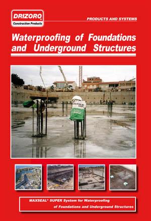 آب بندی پی ها و سازه های زیر زمینی