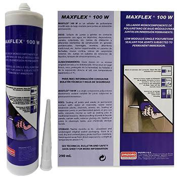 درزگیر پایه پولی یورتان برای آب بندی درز MAXFLEX 100w