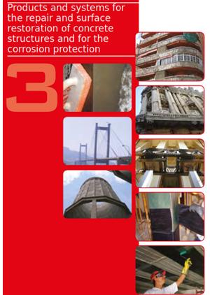 محصولات و سیستم های ترمیم و بازسازی سطوح سازه بتنی و حفاظت خوردگی و...