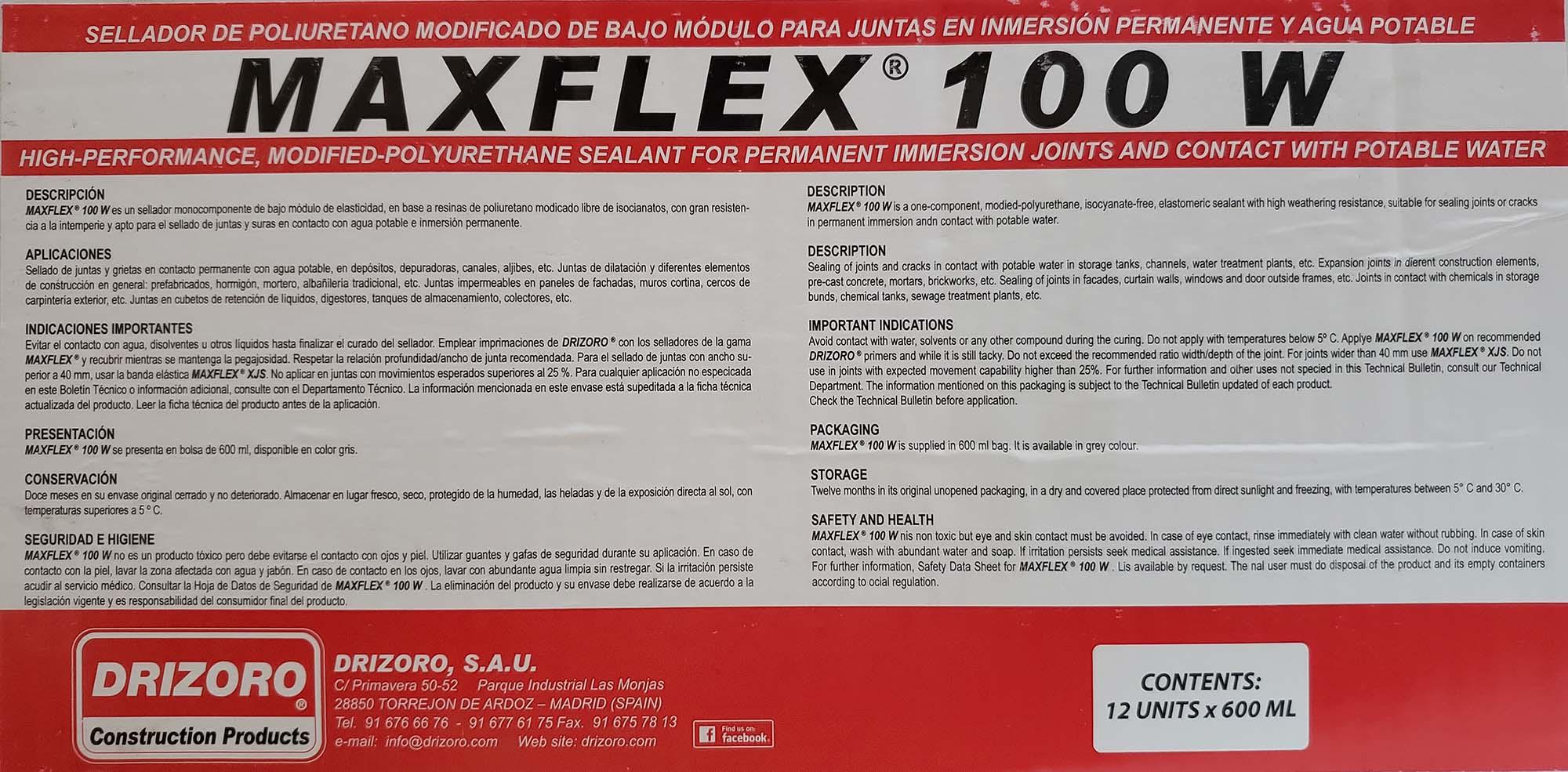 ماستیک درزگیر پایه پلی یورتان MAXFLEX 100w